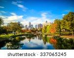 skyline of downtown charlotte... | Shutterstock . vector #337065245