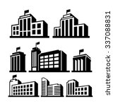 buildings vector icon   Shutterstock .eps vector #337088831
