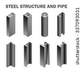 steel structural product such...   Shutterstock .eps vector #337093031
