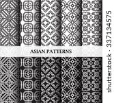 asian pattern | Shutterstock .eps vector #337134575