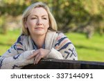 attractive thoughtful middle... | Shutterstock . vector #337144091