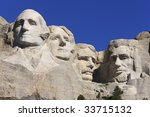 mount rushmore national... | Shutterstock . vector #33715132