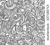 cartoon hand drawn sketchy... | Shutterstock .eps vector #337180715