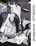 Guernica  Spain   October 10 ...
