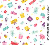 party presents colorful... | Shutterstock .eps vector #337196534