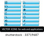 web icons | Shutterstock .eps vector #33719687