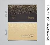 elegant template luxury... | Shutterstock .eps vector #337197611
