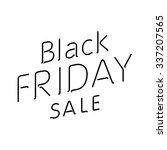 elegant words black friday wear ...   Shutterstock .eps vector #337207565