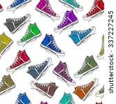 seamless pattern    all over... | Shutterstock . vector #337227245
