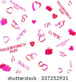 seamless pattern for valentine... | Shutterstock .eps vector #337252931