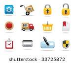 media icons   editable vector...   Shutterstock .eps vector #33725872