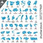 european country maps | Shutterstock .eps vector #337277969