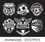 set of soccer football crests... | Shutterstock .eps vector #337279571
