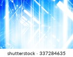 futuristic abstract background... | Shutterstock . vector #337284635