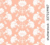 seamless pattern bouquet... | Shutterstock .eps vector #337319987