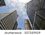 skyscrapers in downtown chicago | Shutterstock . vector #337335929