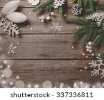 christmas background | Shutterstock . vector #337336811