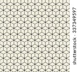 vector seamless pattern... | Shutterstock .eps vector #337349597