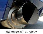 car muffler detail | Shutterstock . vector #3373509