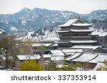 Snowfall In China