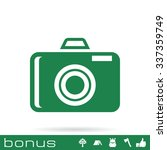 photo camera icon | Shutterstock .eps vector #337359749