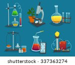 design  icons set of... | Shutterstock .eps vector #337363274