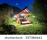 Fairy Gazebo In Woods Lit...