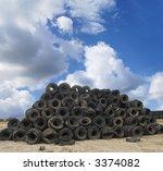 scrapyard scenery   Shutterstock . vector #3374082