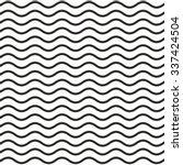 pattern of black wavy line with ...