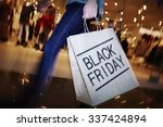modern shopper with black... | Shutterstock . vector #337424894