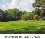 english countryside in tanworth ... | Shutterstock . vector #337427609