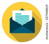 mail button   Shutterstock .eps vector #337448819
