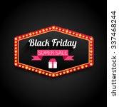 black friday special offer... | Shutterstock . vector #337468244