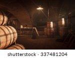 Barrel Making Workshop In Old...
