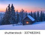 Fantastic Landscape Glowing By...