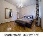 apartment bedroom  interior | Shutterstock . vector #337494779