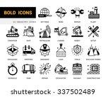 set of creative contemporary... | Shutterstock .eps vector #337502489
