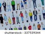 diversity ethnicity variation... | Shutterstock . vector #337539344