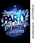 dance party icy design. | Shutterstock .eps vector #337549631