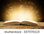 open book  | Shutterstock . vector #337570115
