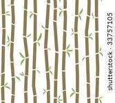 seamless bamboo pattern   will... | Shutterstock .eps vector #33757105