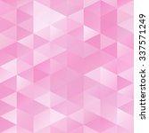 pink grid mosaic background ...   Shutterstock .eps vector #337571249