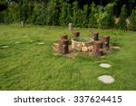 Log   Timber Chairs And Big...