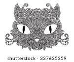 hand drawn doodle outline...   Shutterstock .eps vector #337635359