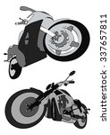 motocycles | Shutterstock . vector #337657811