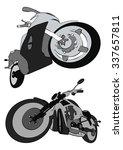 motocycles | Shutterstock . vector #337657811