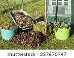 Compost Bin  Waste  Mulch In A ...