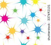 firework stars   abstract... | Shutterstock .eps vector #337692131