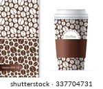 coffee cup template... | Shutterstock .eps vector #337704731