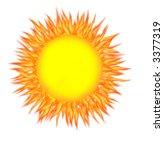 Illustration Of Bright Summer...